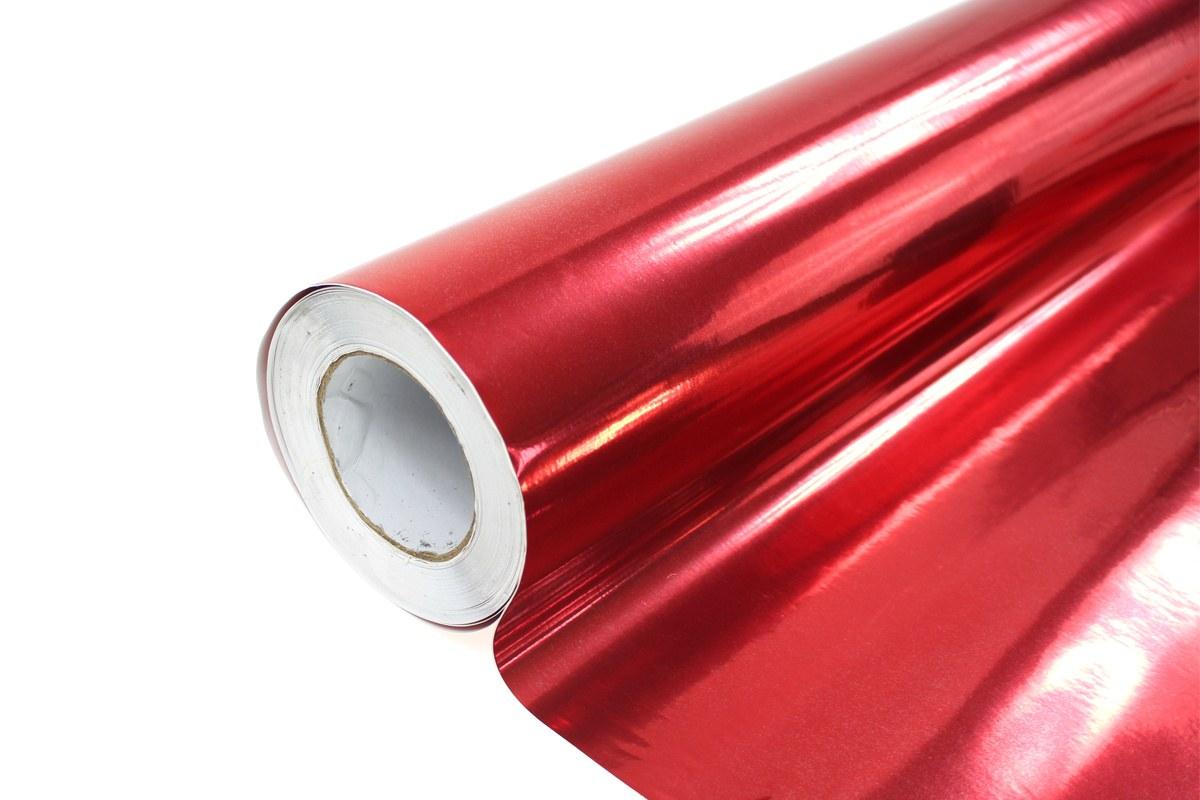 Folia Wrap Red Chrome 1,52X25m - GRUBYGARAGE - Sklep Tuningowy